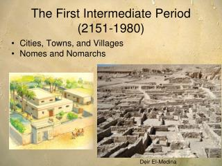 The First Intermediate Period ( 2151-1980 )