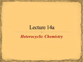 Lecture 14a