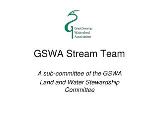 GSWA Stream Team