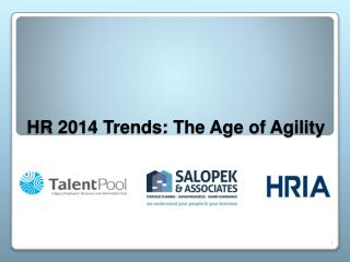 HR 2014 Trends: The Age of Agility