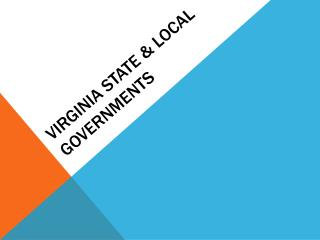 Virginia State & Local Governments