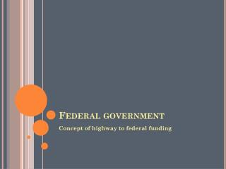 Federal government