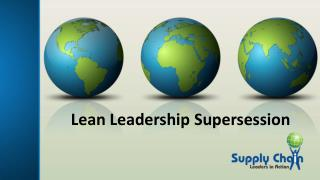 Lean Leadership Supersession