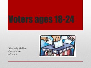 Voters ages 18-24