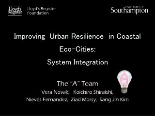 Improving  Urban Resilience  in Coastal Eco-Cities: System Integration