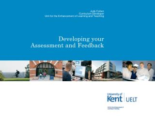 Developing  your  Assessment and Feedback