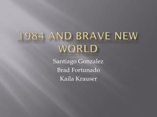 1984  and  brave new world