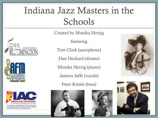 Indiana Jazz Masters in the Schools