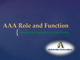 AAA Role and Function