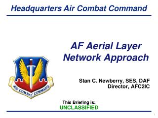 AF Aerial Layer  Network Approach