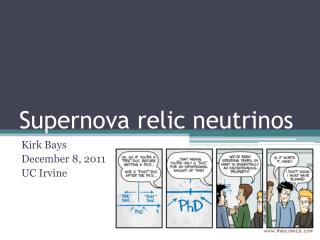 Supernova relic neutrinos