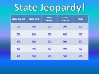 State Jeopardy!