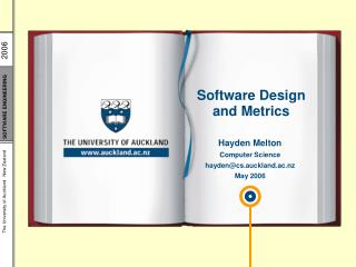 Software Design and Metrics