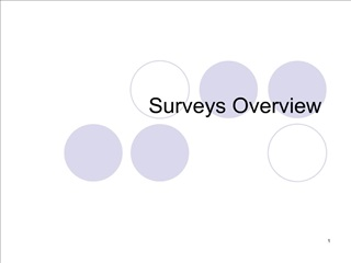 Surveys Overview