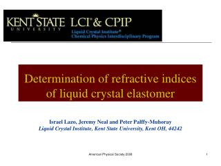 Liquid Crystal Institute