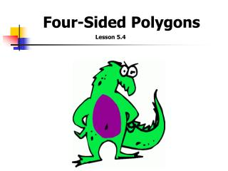 Four-Sided  Polygons