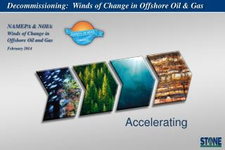 Decommissioning :   Winds of Change in Offshore Oil & Gas