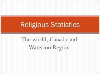 Religious Statistics