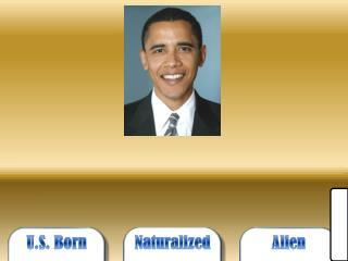 U.S. Born