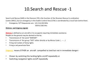 10.Search and Rescue -1