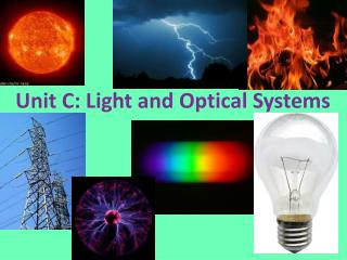 Unit C: Light and Optical Systems