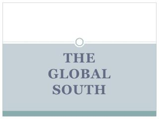 The  Global South