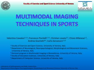 MULTIMODAL IMAGING TECHNIQUES IN SPORTS
