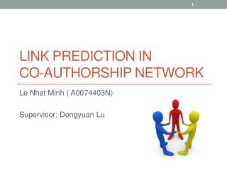 Link Prediction in  Co-Authorship Network