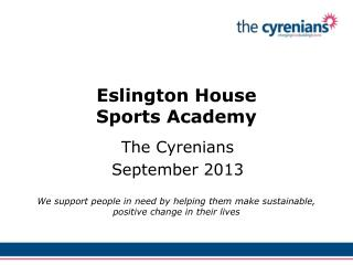 Eslington House Sports Academy