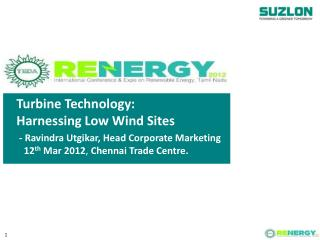Turbine Technology: Harnessing Low Wind Sites