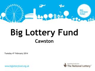 Big Lottery Fund Cawston