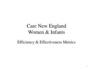 Care New England Women & Infants