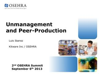 Unmanagement  and Peer-Production