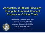 Application of Ethical Principles During the Informed Consent ...