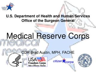 U.S. Department of Health and Human Services Office of the Surgeon General