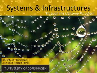 Systems & Infrastructures