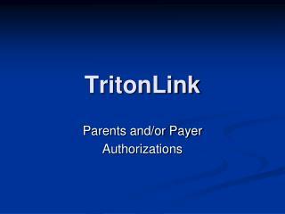 TritonLink