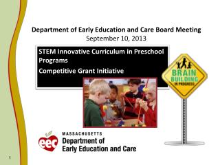 Department of Early Education and Care Board Meeting  September 10, 2013