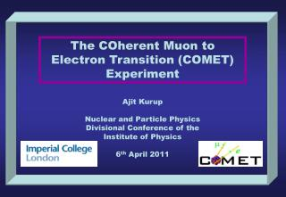 The  COherent  Muon to Electron Transition (COMET) Experiment