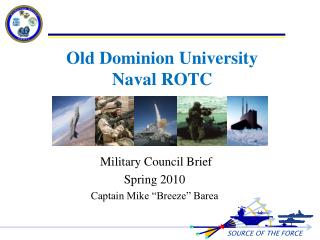 Old Dominion University  Naval ROTC
