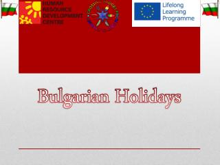 Bulgarian Holidays