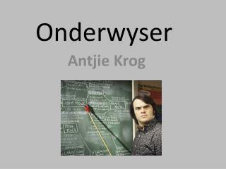 Onderwyser