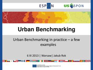 Urban Benchmarking