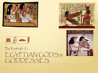 Egyptian gods & goddesses