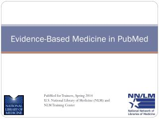 Evidence-Based Medicine in PubMed