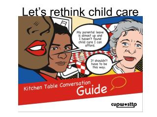 Let's rethink child care
