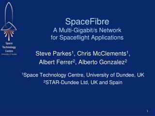 SpaceFibre A Multi-Gigabit/s Network for Spaceflight Applications
