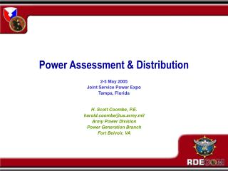 Power Assessment & Distribution