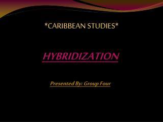 *CARIBBEAN STUDIES*