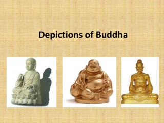 Depictions of Buddha